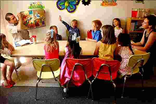enseñando escuela dominical