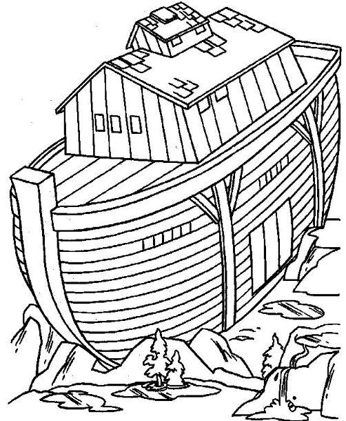 P\' Colorear El Arca de Noé - Maestro de Escuela Dominical
